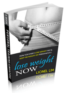 lose weight poster